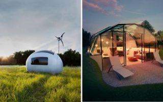Архитектура: Дома будущего, которые доставляются на участок уже готовыми