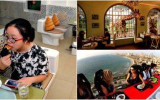 Архитектура: Чудные рестораны, концепции которых изумят даже самых искушенных посетителей