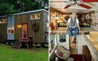 Архитектура: Американка построила дом на колесах, чтобы не платить высокую аренду за жилье, и на этом не остановилась
