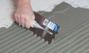 Как выбрать шпатель для укладки плитки