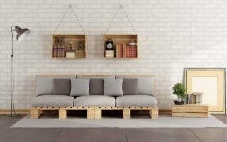 Бюджетные идеи: мебель из паллет