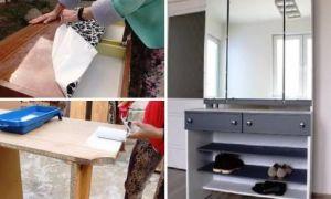 Идеи вашего дома: Мастерица переделала советский трельяж в стильный элемент мебели: наглядный мастер-класс