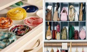 Идеи вашего дома: Как освободить кучу места в шкафу: 11 полезных советов