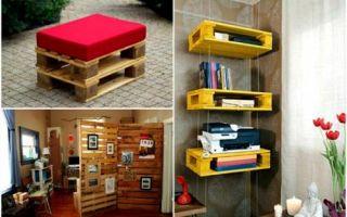 Идеи вашего дома: 15 свежих идей использования деревянных поддонов дома и на даче