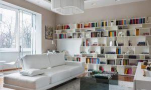 Белая квартира на Патриарших прудах