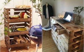 Идеи вашего дома: 20 изделий из паллетов, которые под силу сделать любому, чтобы не тратиться на дизайнерскую мебель