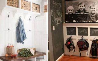 Идеи вашего дома: 15 креативных идей, которые помогут сделать функциональную прихожую даже в маленькой квартире