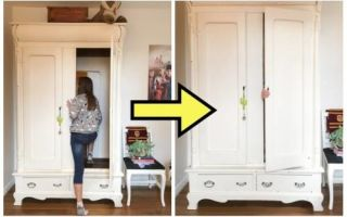 Идеи вашего дома:  Мама подарила дочке платяной шкаф с большим сюрпризом, и теперь все друзья хотят попасть к ним в гости