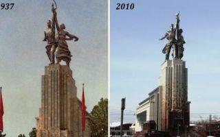 Архитектура: Самая знаменитая пара в СССР, или Как создавался памятник «Рабочий и колхозница», и что у него внутри