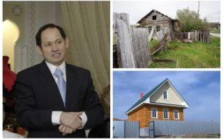Архитектура: Бизнесмен из Питера строит жилье в родной деревне для односельчан, которые получат его даром при одном условии