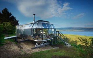 Архитектура: Домик-дирижабль, который позволит незабываемо провести отпуск
