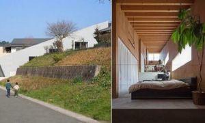Архитектура: Скользящий дом: В Японии строят жилища, в которых нет перегородок