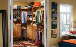 Идеи вашего дома: Как создать гардеробную в маленькой квартире, почти не жертвуя квадратными метрами
