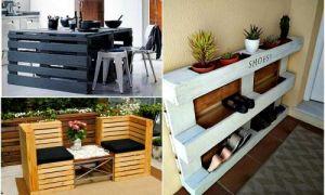 Идеи вашего дома: Мебель из паллетов, которая станет бюджетным, но эффектным украшением дома и сада