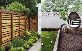 Идеи вашего дома: Деревянные заборы и ограждения, которые станут визитной карточкой любого загородного участка (20 фото)