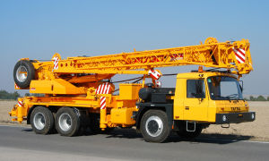 Автомобильный кран 50 тонн – характеристики и цена аренды