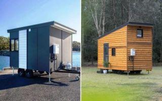 Архитектура: Австралийка разработала 5 моделей крошечных домиков, в которых захочется жить каждому