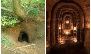 Архитектура: Обычная кроличья нора привела в таинственную пещеру,  которая могла быть храмом тамплиеров