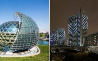 Архитектура: 6 строений  постмодернизма, которые позволяют взглянуть на архитектуру Парижа под другим углом