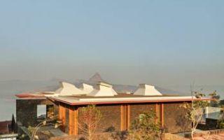 Павильон для уединенного отдыха в горах Индии