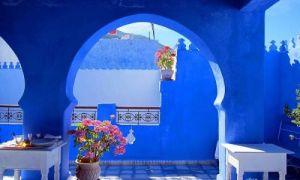 Архитектура: «Голубая жемчужина» Марокко: оттенки синего на улицах города  Шефшауэна