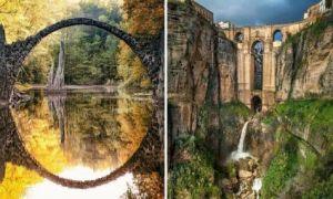 Архитектура: 10 сказочно красивых арочных мостов мира, которые захочется увидеть вживую