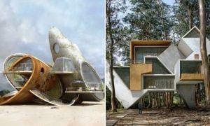 Архитектура: «Порождение хаоса»: сюрреалистическая фантазия в проектах испанского архитектора