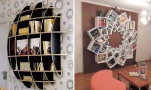 Идеи вашего дома: Дизайнерские полки, которые станут настоящей визитной карточкой дома
