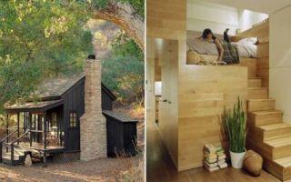 Архитектура: 7  крошечных домов, каждый сантиметр которых используется с умом