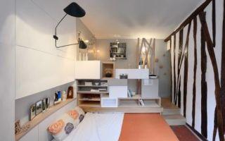 Идеи вашего дома: Малогабаритная квартира в Париже: Как устроить уютный интерьер всего на 12 «квадратах»