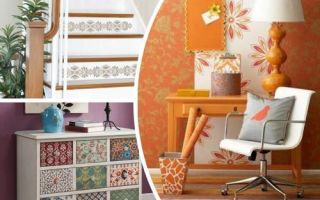 Идеи вашего дома: Как рационально и со вкусом использовать остатки обоев: самые креативные идеи