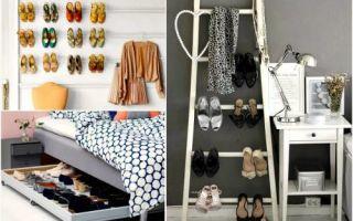 Идеи вашего дома: 18 идей, где можно хранить обувь в квартире