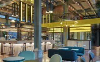 Цветной ресторан в Маастрихте