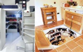 Идеи вашего дома: 12 идей, как и где можно сделать скрытую комнату и оборудовать в ней «тайник»