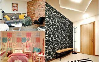 Идеи вашего дома: 17 практических вариаций, как комбинировать обои, визуально изменяя пространство