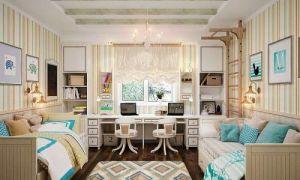 Идеи вашего дома: Как оформить комнату для двоих детей: практичные полезные советы