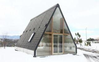 Архитектура: Складной дом, установка которого занимает не более 8 часов