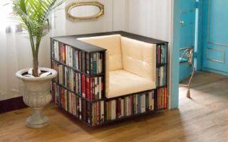 Идеи вашего дома: Секреты хранения книг в маленькой квартире, которыми поделились дизайнеры интерьера