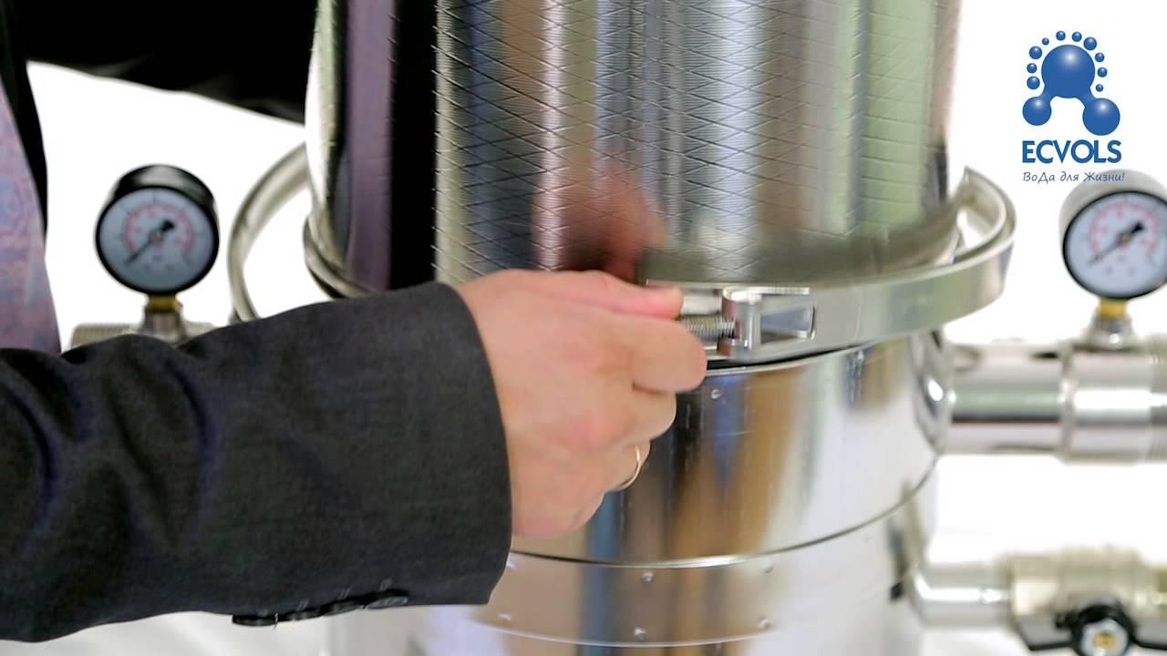 Как подобрать фильтр для очистки воды?Элволс