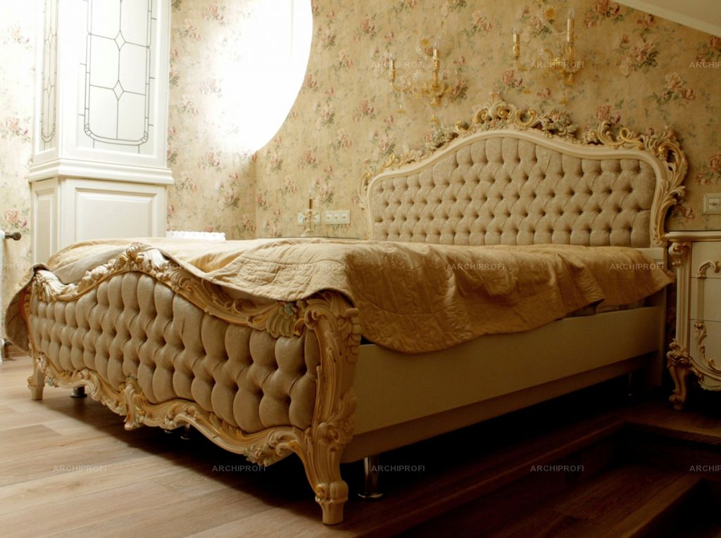 Как правильно выбрать кровать.Кровать в стиле классицизм
