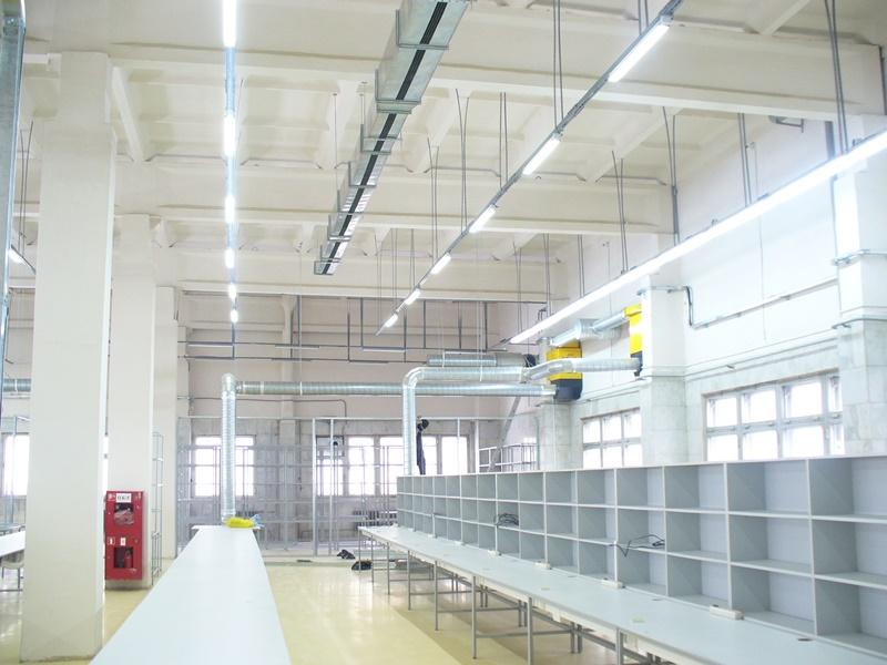 светодиодные светильники для промышленных предприятий