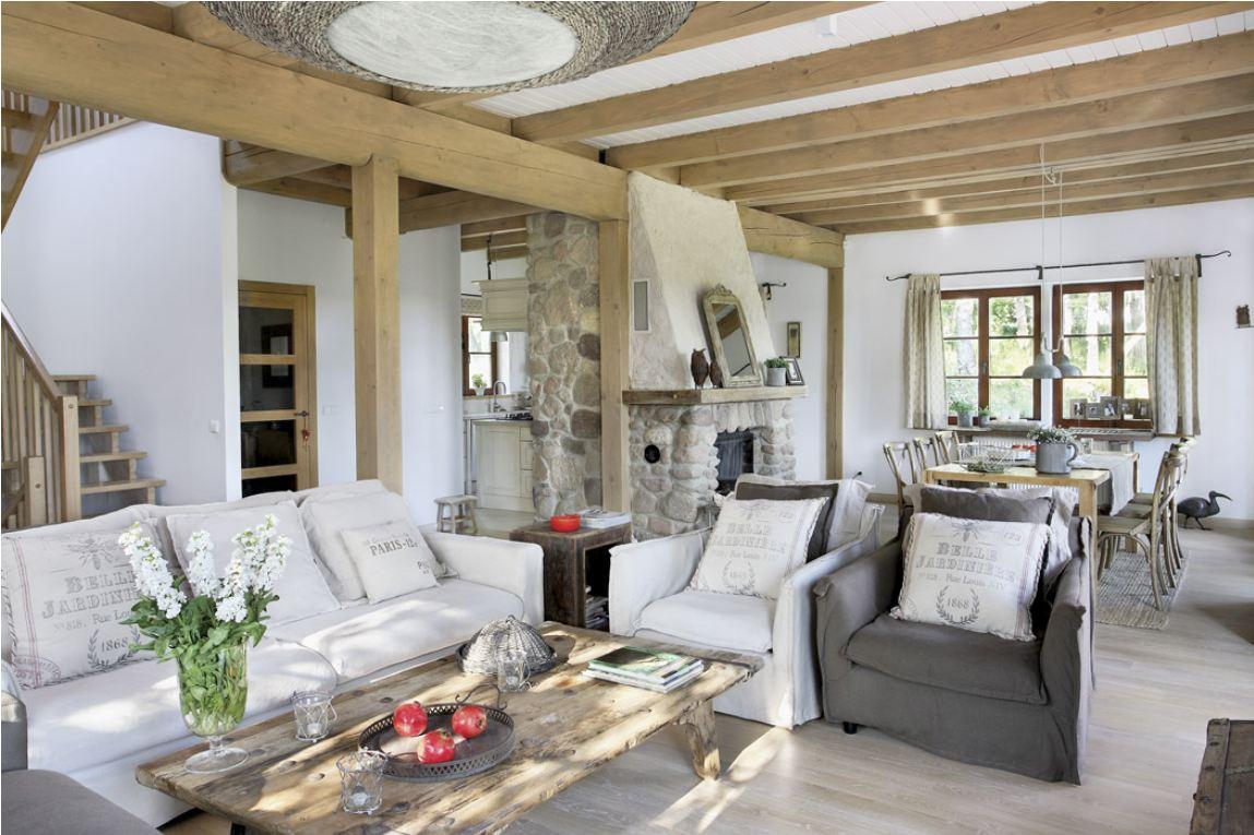 Дизайн интерьера гостиной в стиле Прованс фото