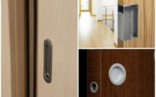 Ассортимент фурнитуры для установки на двери