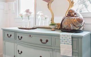 Как покрасить комод: красивый мастер-класс как обновить старый комод своими руками