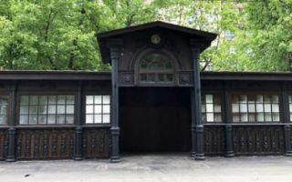 В Москве отреставрировали чугунную остановку 1890 года