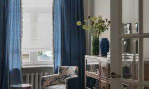 Квартира в арбатском переулке, 75 м²